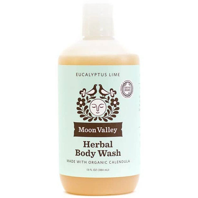 Moon Valley Organics Eucalyptus Lime Herbal Body Wash (13 oz)