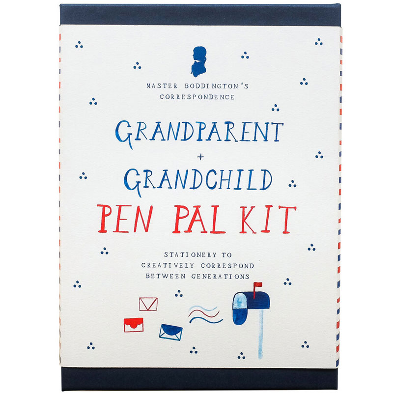 Mr. Boddington's Studio Grandparent + Grandchild Pen Pal Kit
