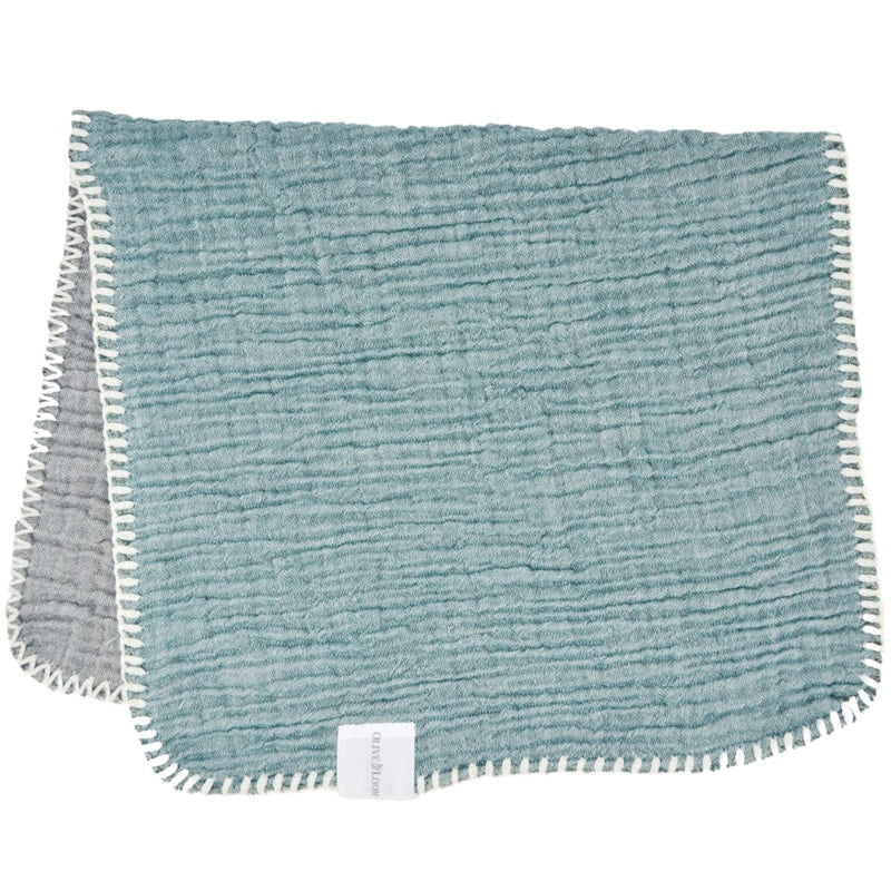 Olive & Loom Guest/Face Towel - Sea Green (1 pc)