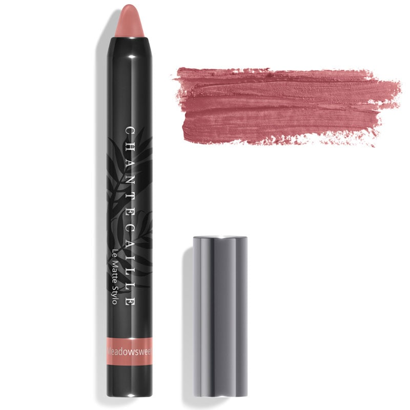 Chantecaille Le Matte Stylo Meadowsweet 2.5 g with color smear
