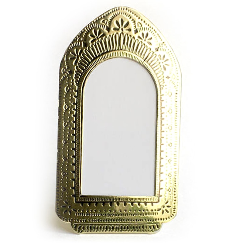 The Little Press Tall Faux Tin Frame - Gold (1 pc)