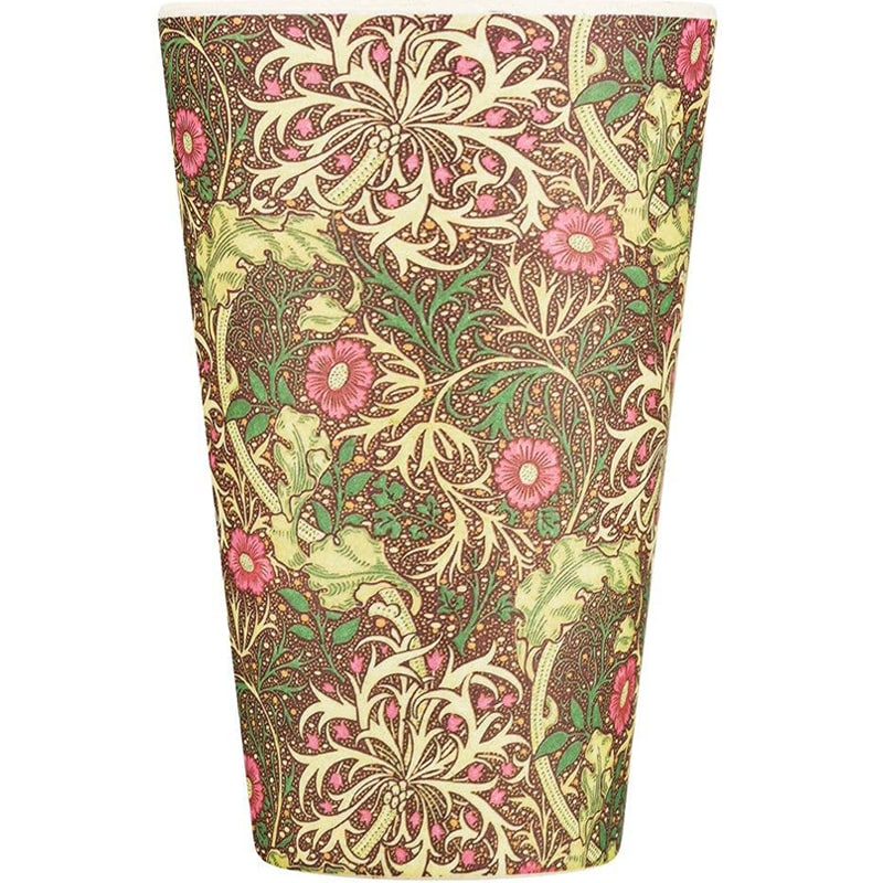 Ecoffee Cup William Morris - Seaweed without cap or sleeve