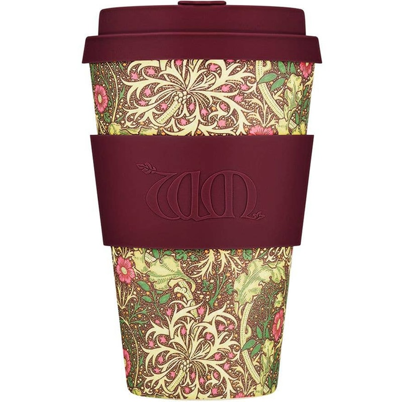 Ecoffee Cup William Morris - Seaweed (14 oz)