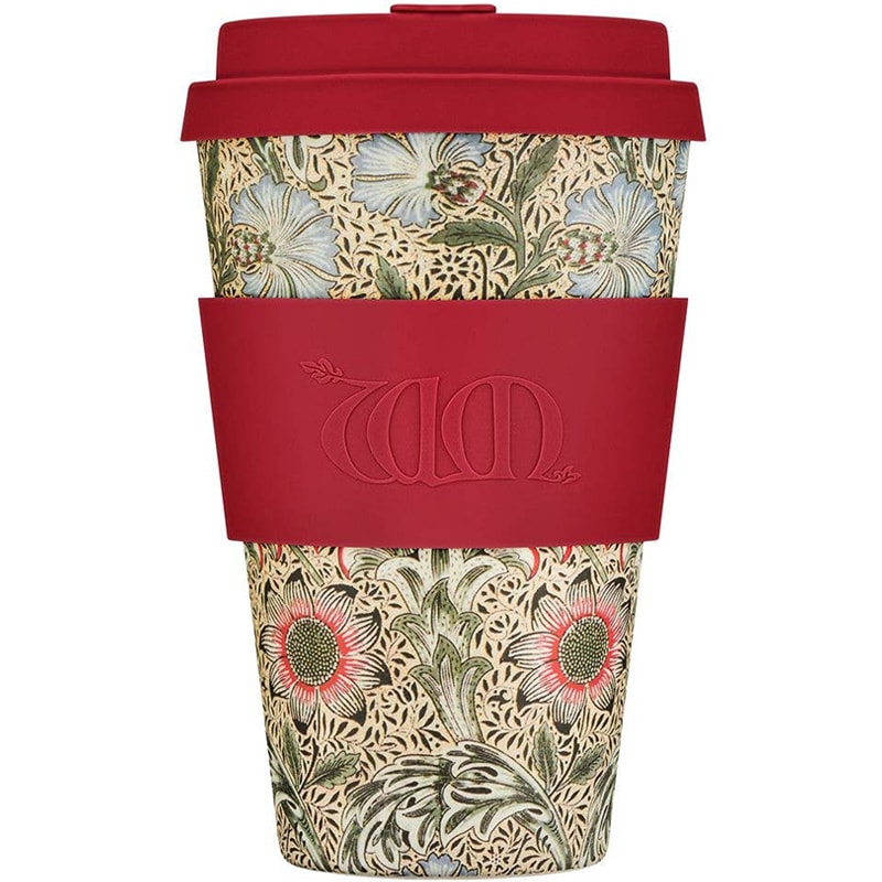 Ecoffee Cup William Morris - Corncockle (14 oz)