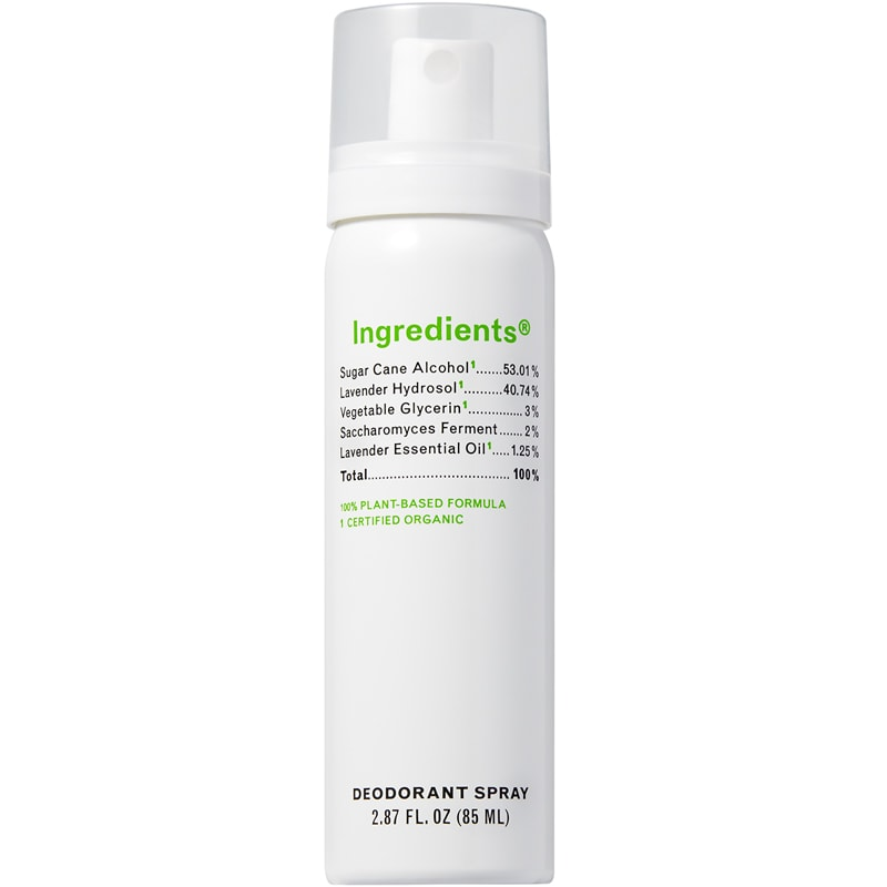 Ingredients Deodorant Spray (85 ml)
