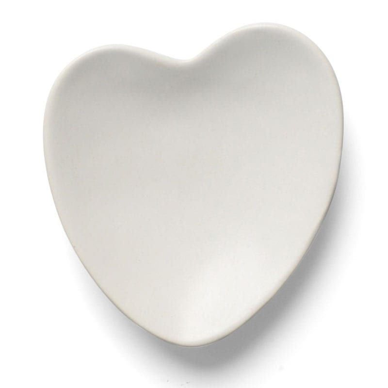 Bamford Heart Shape Soap Dish (1 pc)