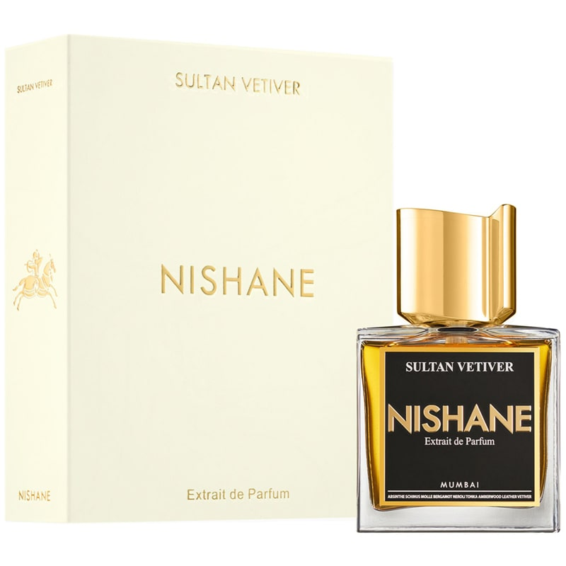 Nishane Sultan Vetiver Extrait de Parfum with box