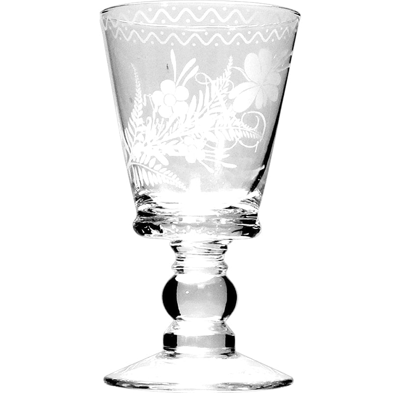 Leona d'Amour Small Stem Glass (set of 4) one pictured