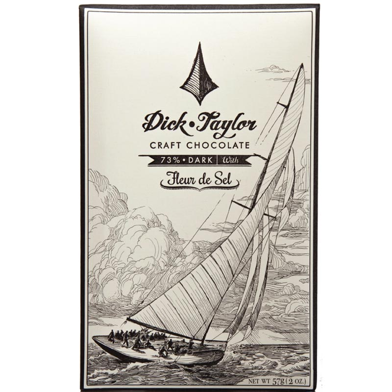 Fleur de Sel 73% Dark Chocolate Bar (2 oz)