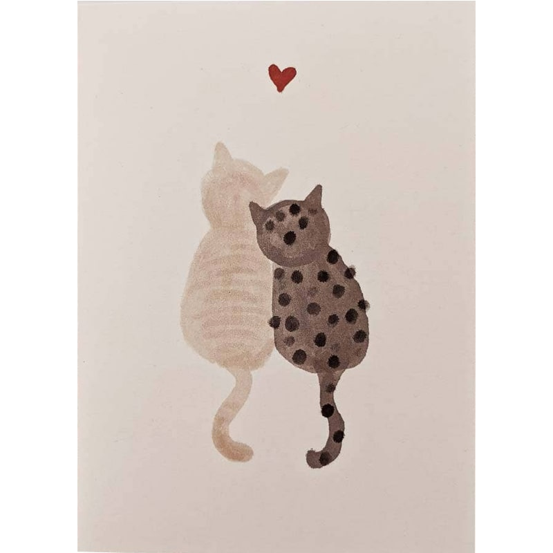 Mimi & August Purrfect Love Greeting Card