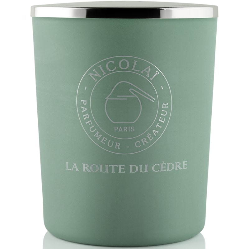 Bougie Parfums de Nicolai Route du Cedre Intense (6,7 oz)