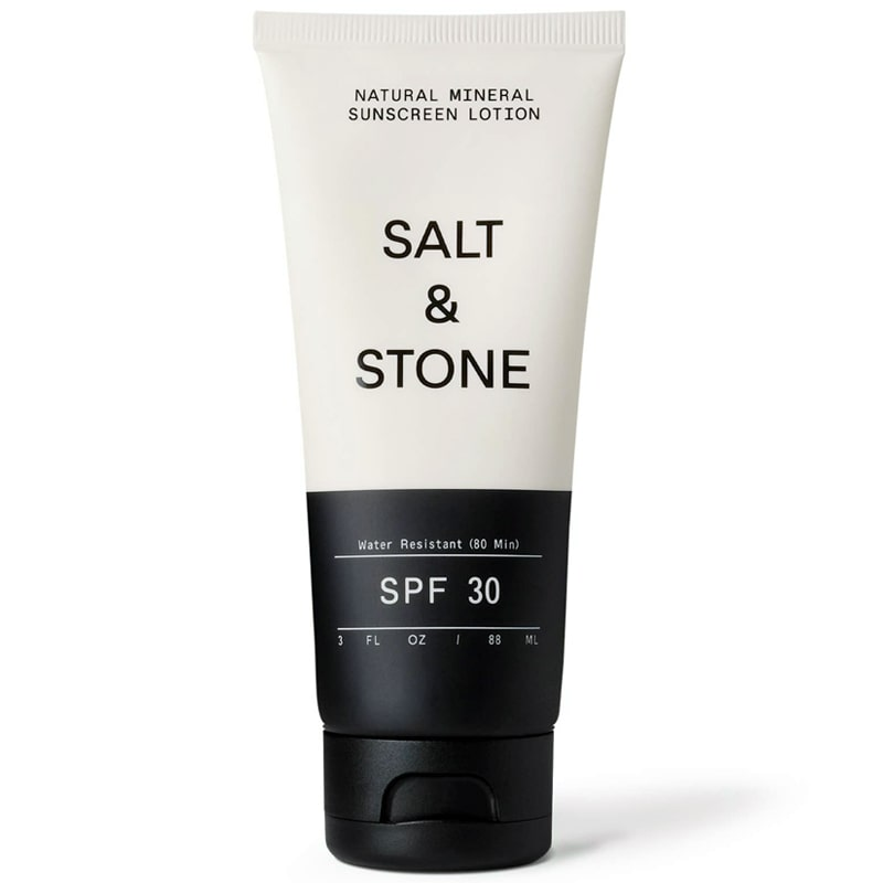 Salt & Stone SPF 30 Natural Mineral Sunscreen Lotion (3 oz)