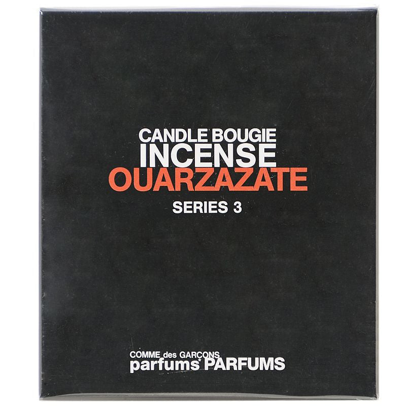 Comme des Garcons Incense Series 3 Ouarzazate Candle (145 g) box