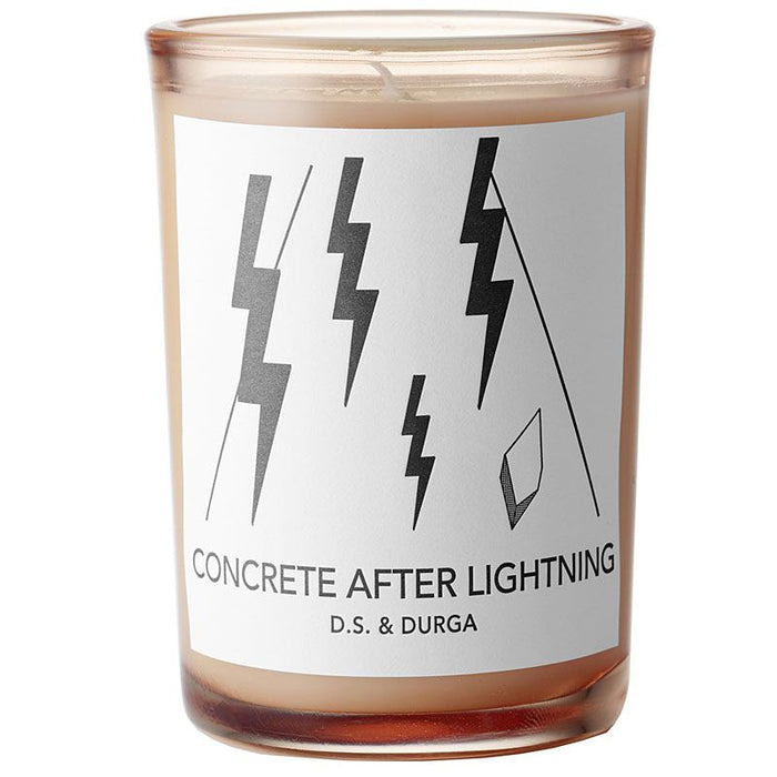 Concrete After Lightening Candle