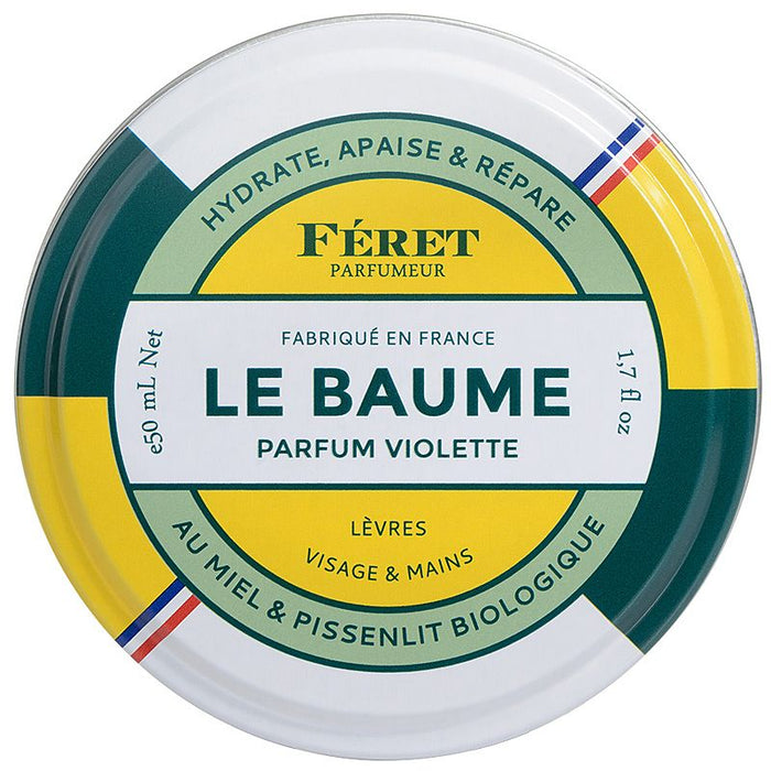 Feret Parfumeur Le Baume Violette (50 ml) closed tin
