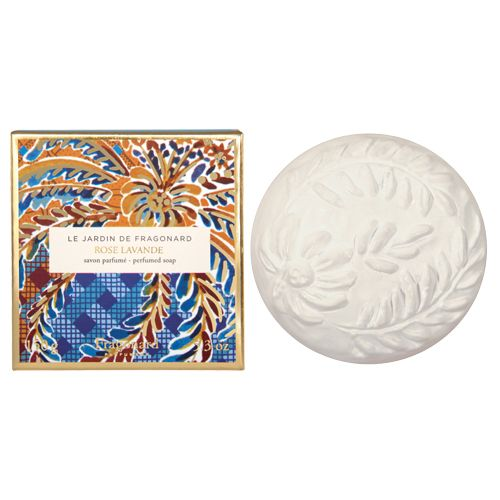 Fragonard Parfumeur Rose Lavande Perfumed Soap (150 g) with box