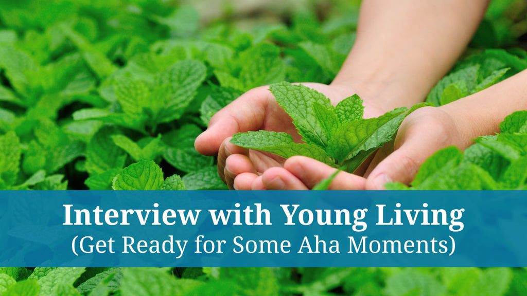 Adam Green from Young Living Interviews Richard Brooke