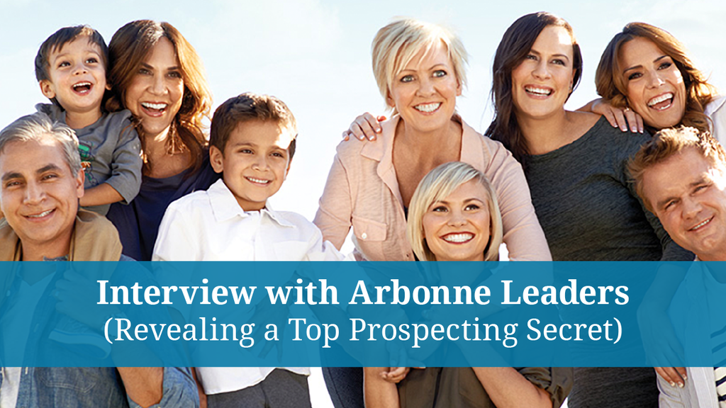 Richard Talks The Four Year Career® with Arbonne Leaders