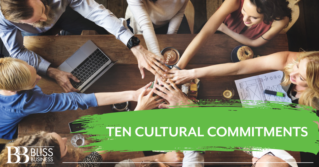 Ten Cultural Commitments