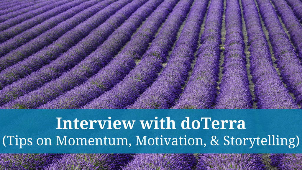 Hayley Hobson from doTerra Interviews Richard Brooke