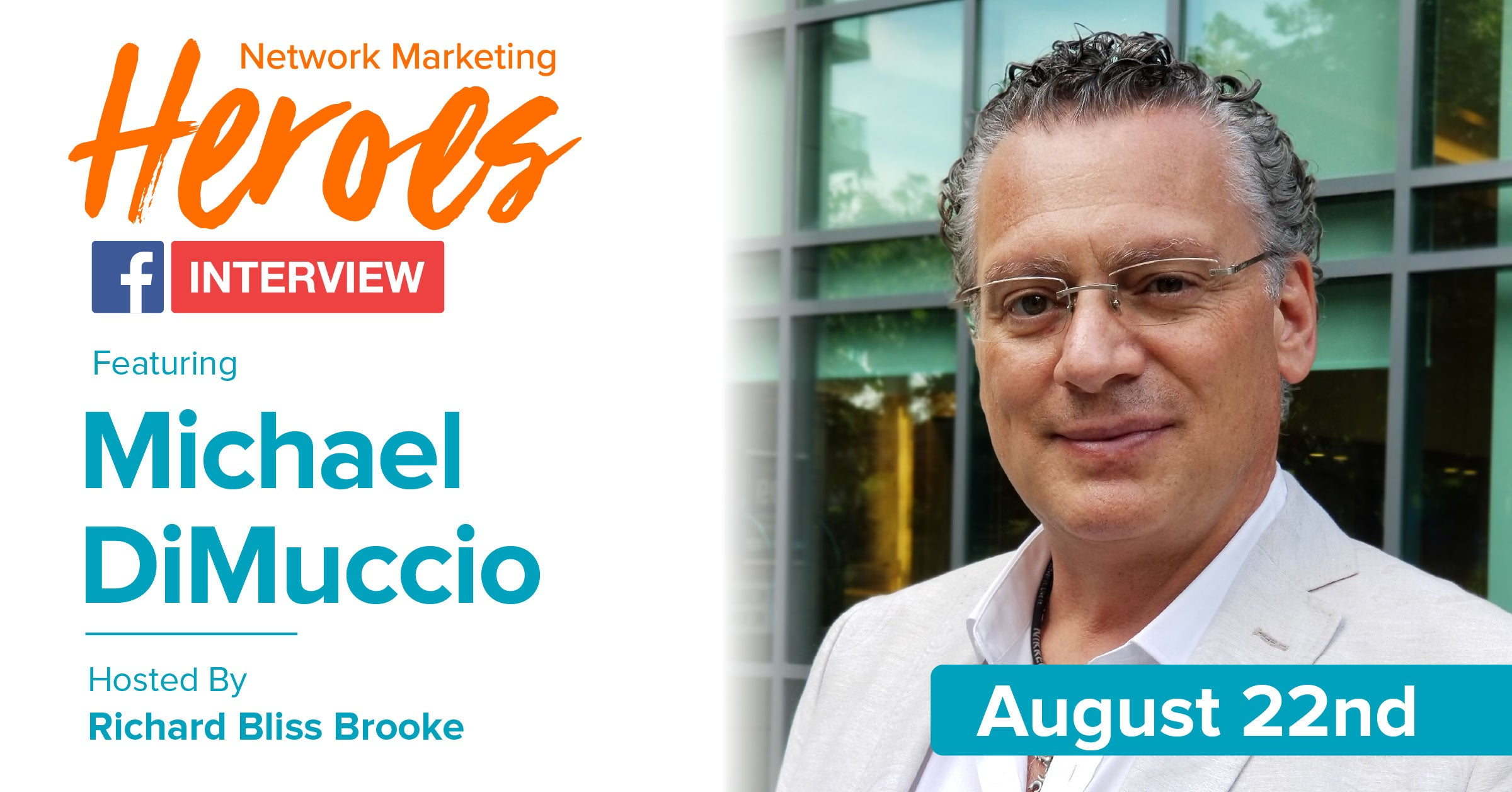 Michael DiMuccio - MLM tools, training and tips with Richard Bliss Brooke Bliss Business Network Marketing Heroes Call
