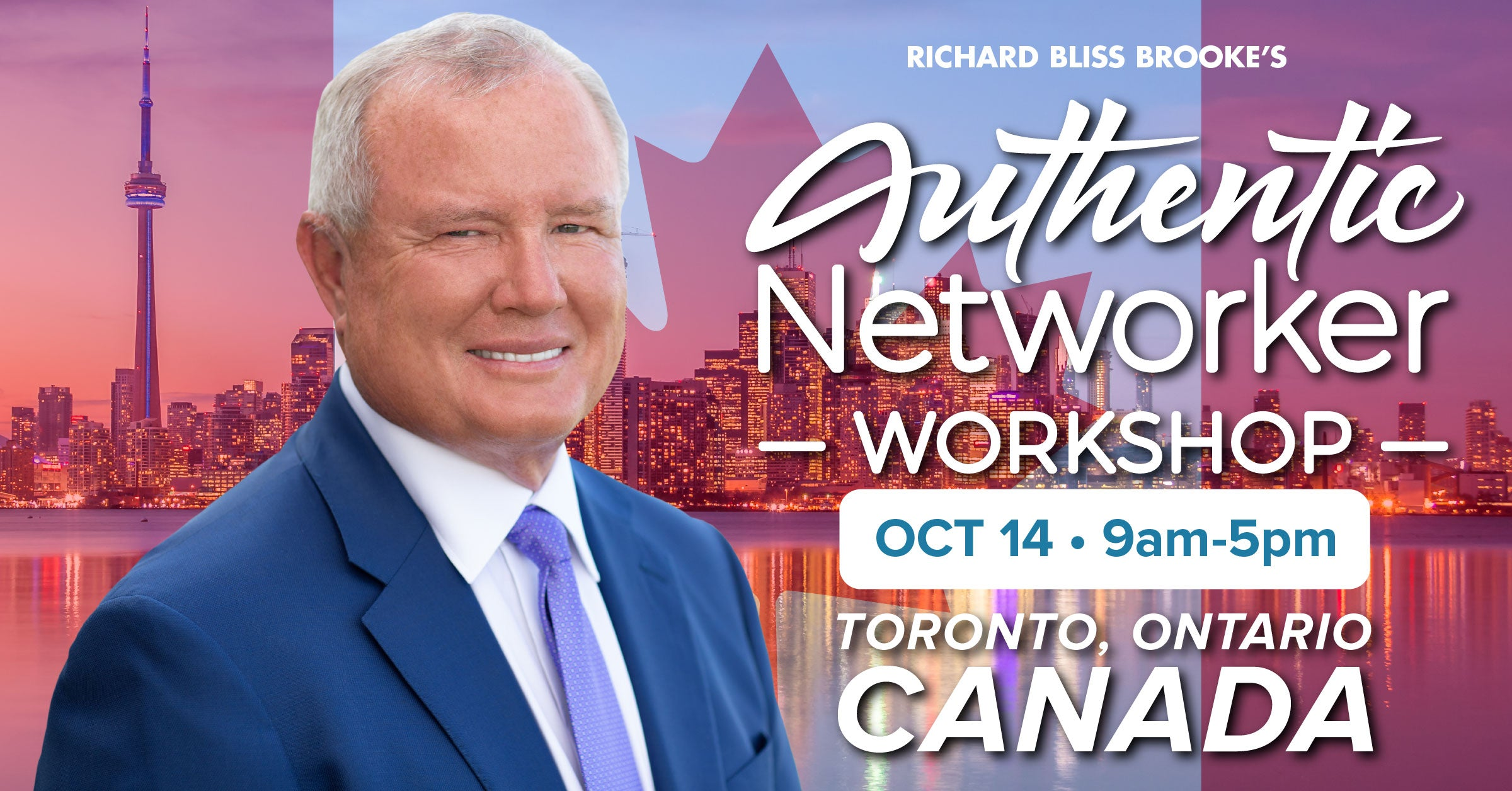 Richard Brooke Authentic Networker Workshop Network Marketing Bliss Business