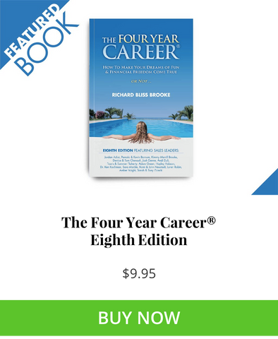 The Four Year Career MLM Prospecting Book