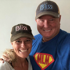 Richard & Kimmy Brooke in their Bliss Hats