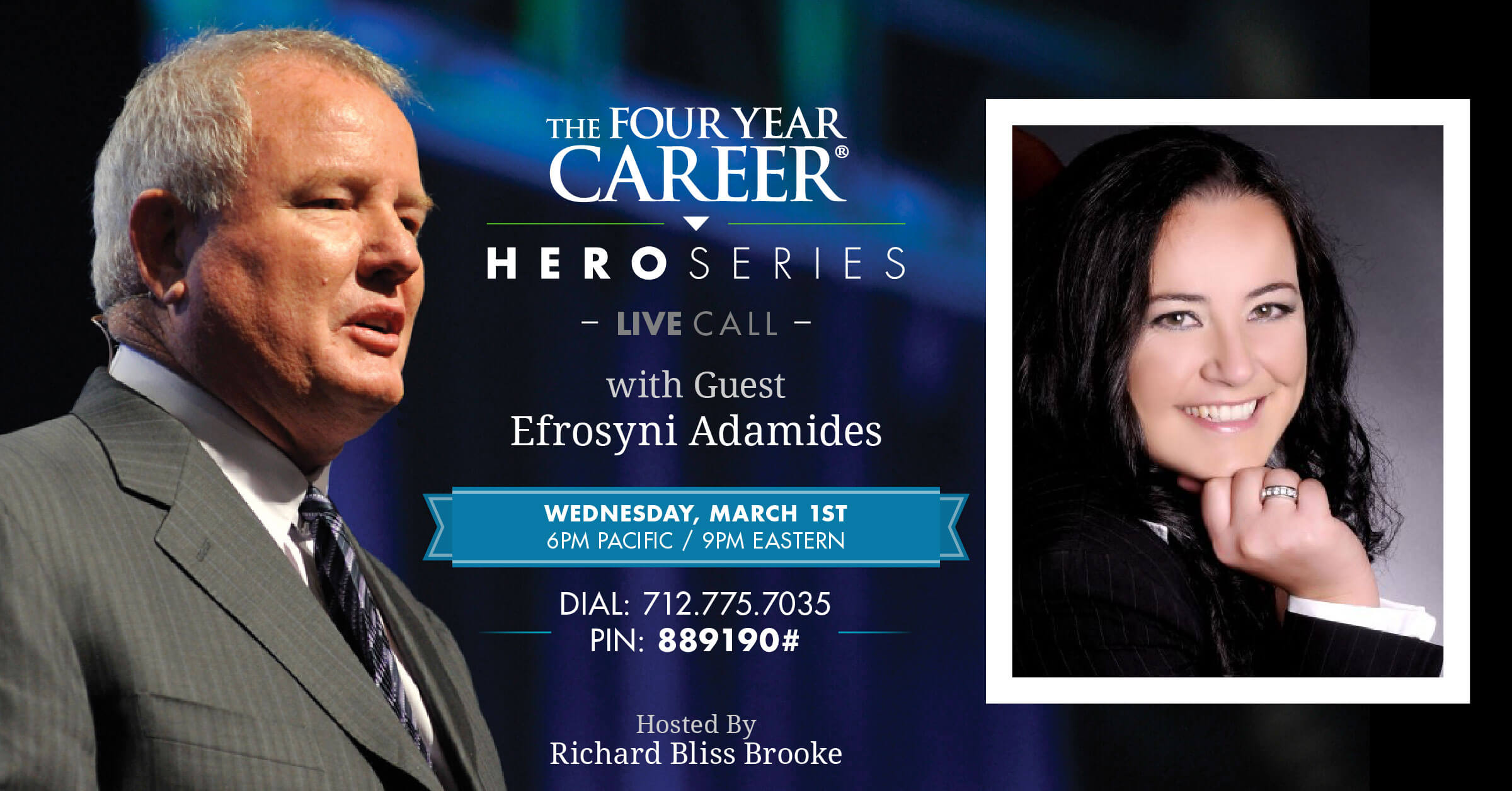 Hero Series LIVE Call with Efrosyni Adamides