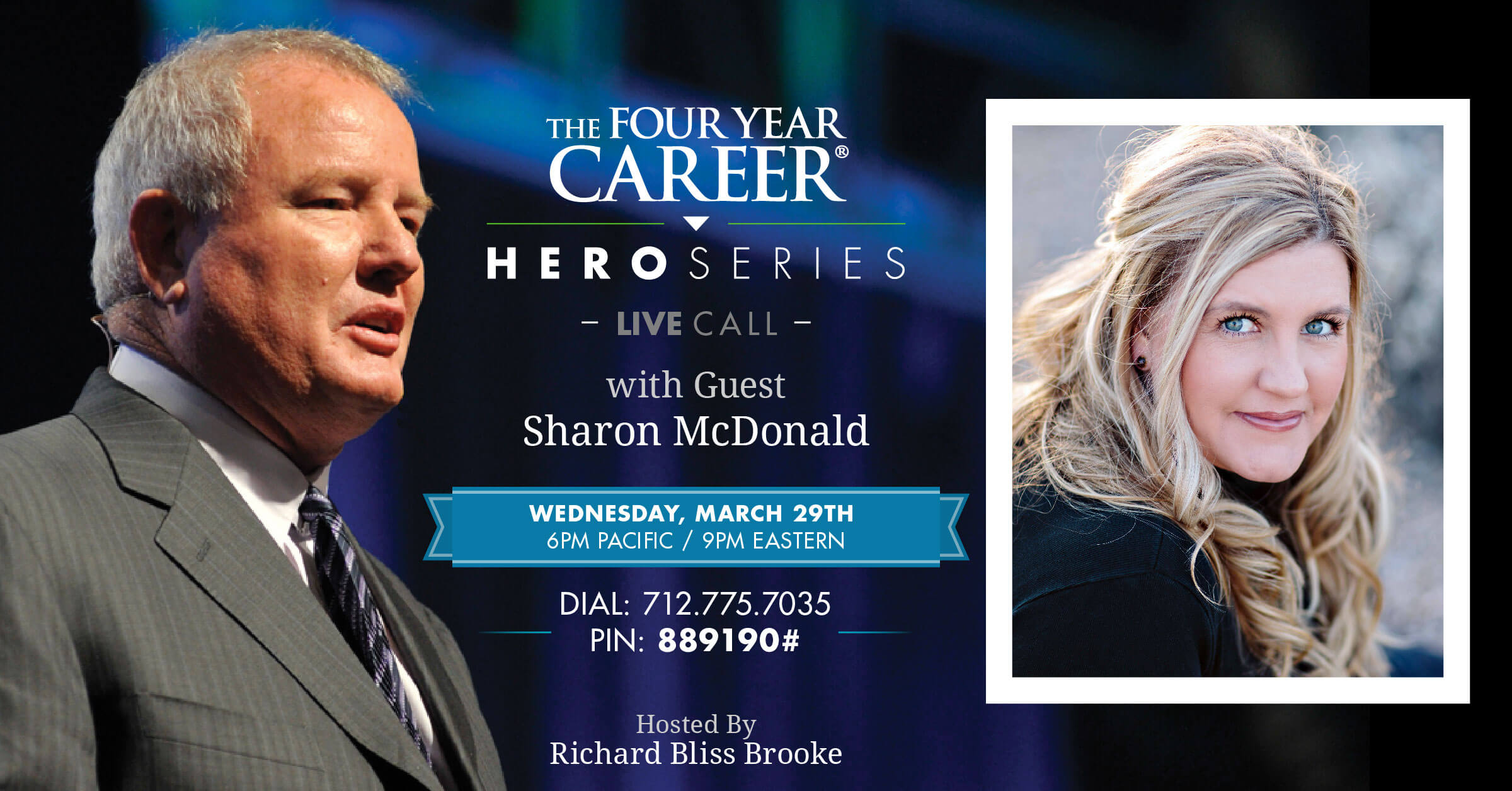 Network Marketing The Four Year Career Hero Series Live Call with Sharon McDonald