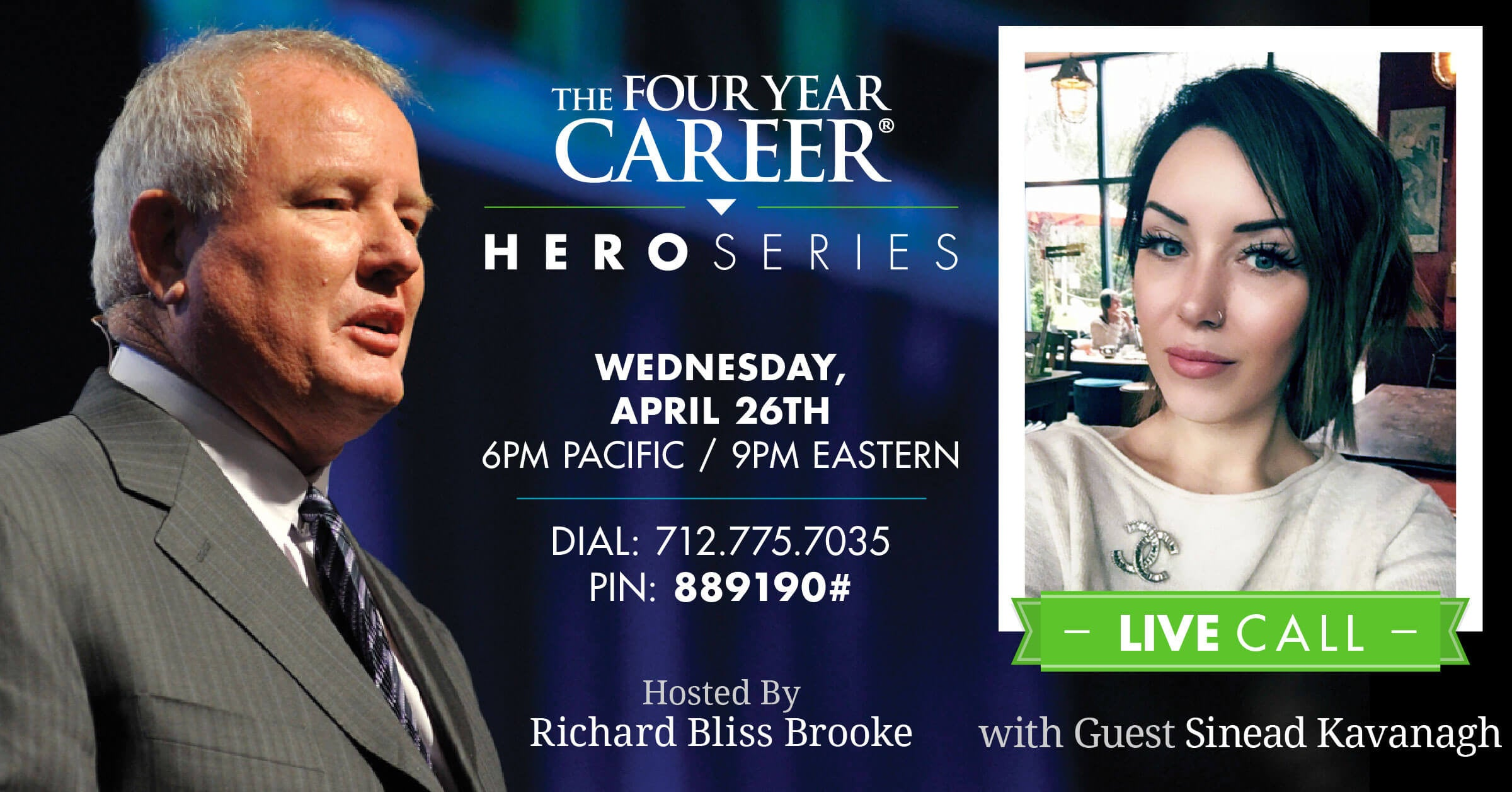 Hero Series LIVE Call with Sinead Kavanagh