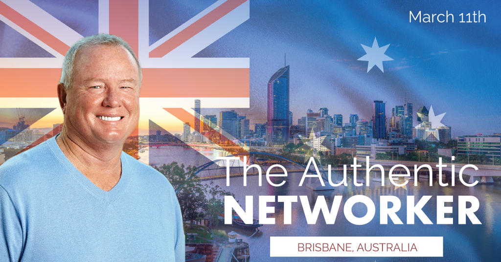 Richard Brooke #1 MLM Trainer is coming to Brisbane Australia