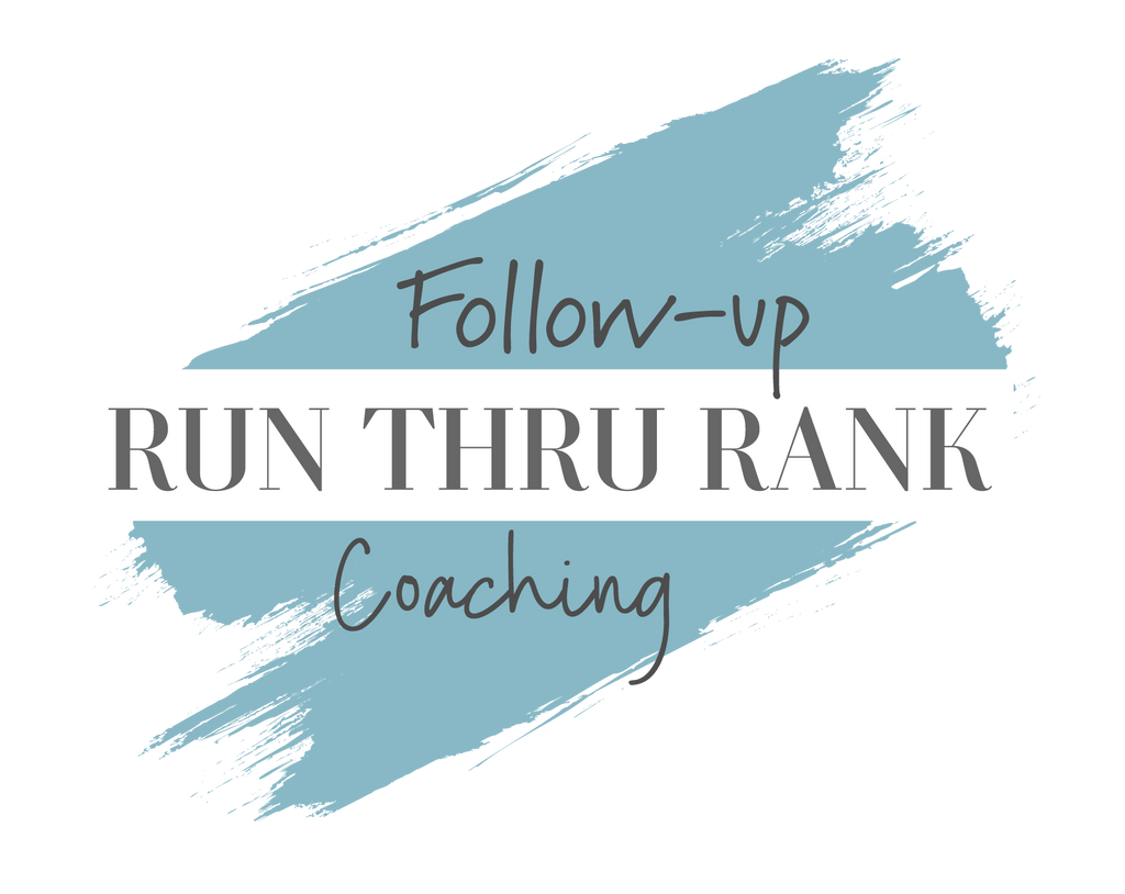 RunThruRank Follow Up Coaching