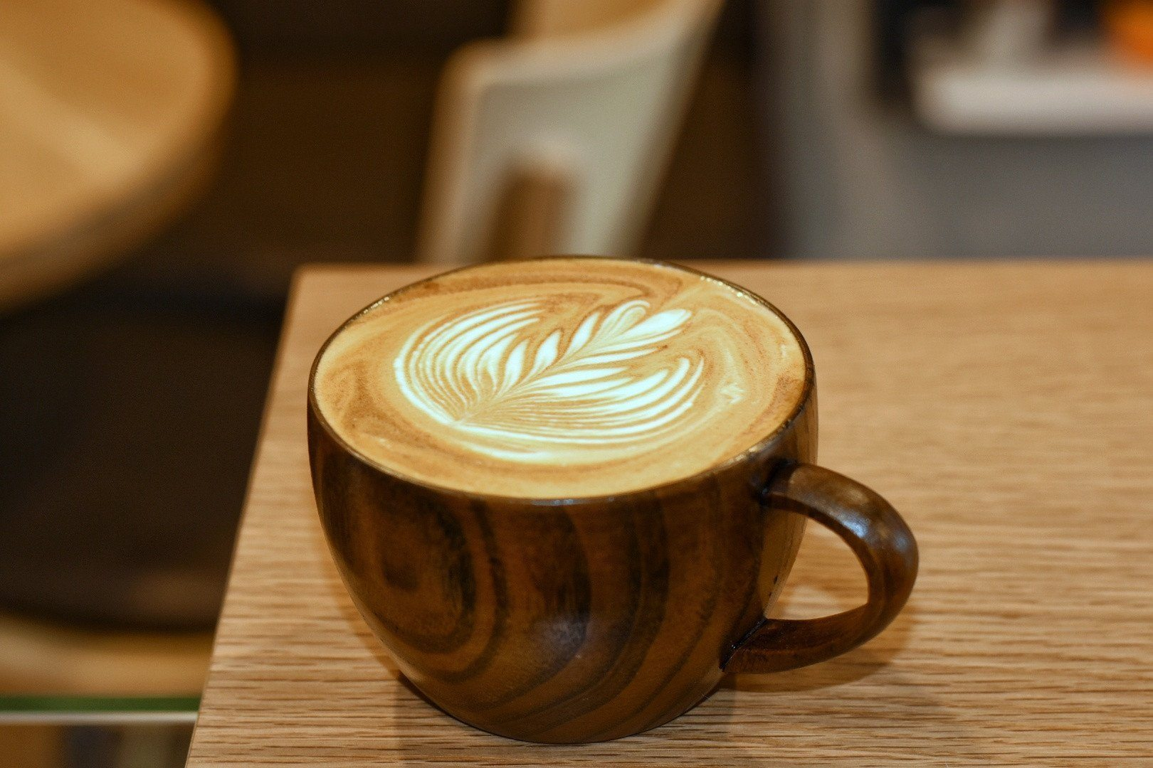 250 ml Wooden Latte Art Mug