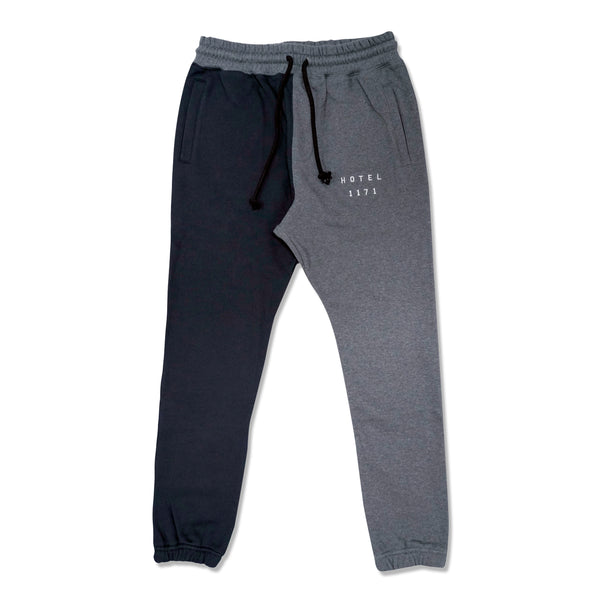 Coastal French Terry Sweat Pant - Navy/Charcoal
