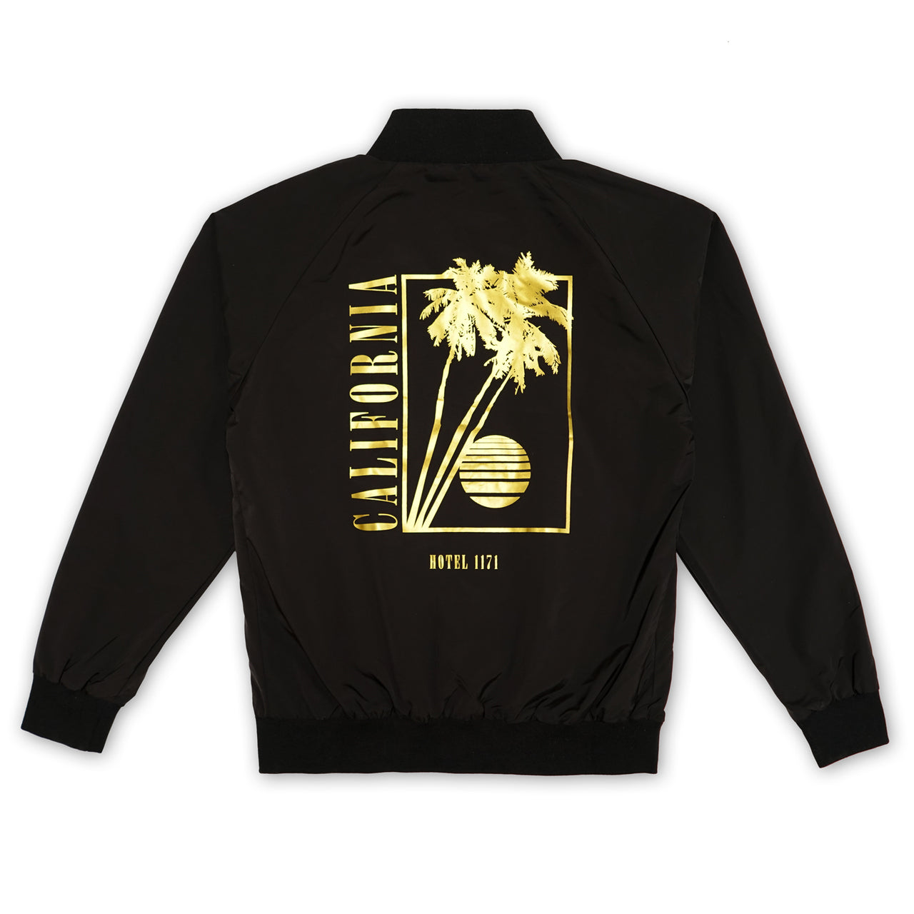 California Gold Jacket - Black