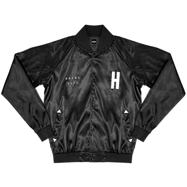 HOTEL California Classic Bomber Jacket - Black