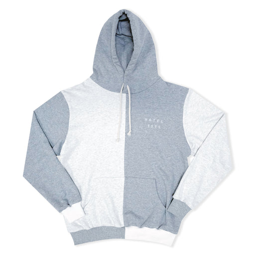 Coastal French Terry Hoodie - Heather/Natural
