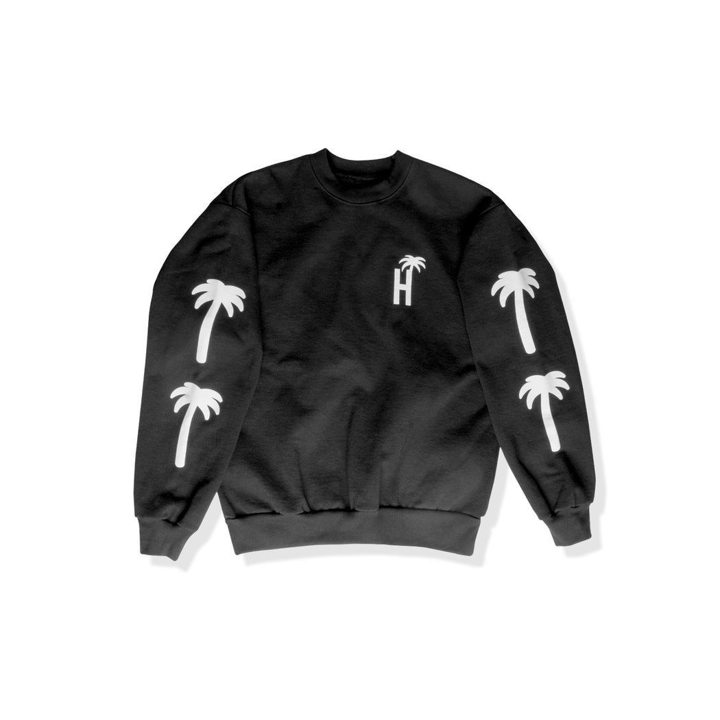 Cozy Palm Crewneck Sweatshirt