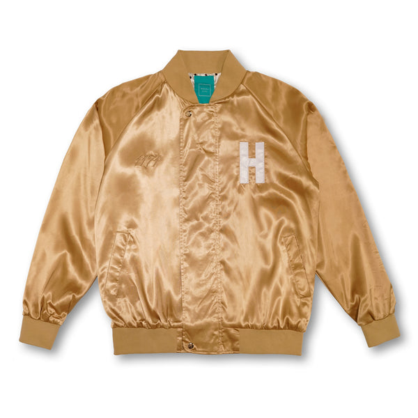 HOTEL CA Satin Jacket - Gold