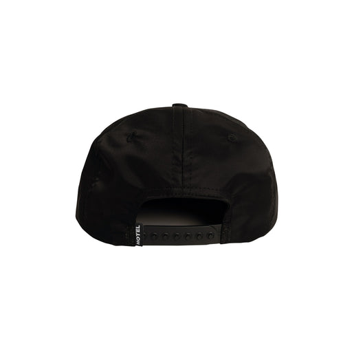 HOTEL LONEPINE SNAPBACK HAT - BLACK