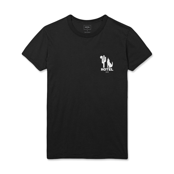 HOTEL 1171 Moonlight Tee - Black
