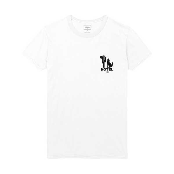 HOTEL 1171 Moonlight Tee - White