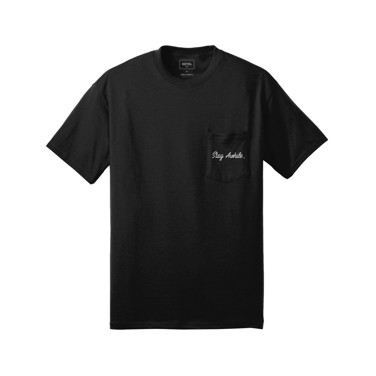 HOTEL 1171 StayAwhile Tee - Black