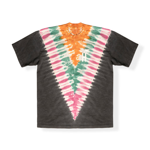 HOTEL 1171 - DAY TRIP TIE DYE T-SHIRT - BLACK