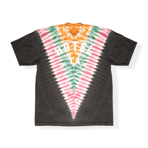 DAY TRIP TIE DYE T-SHIRT - BLACK