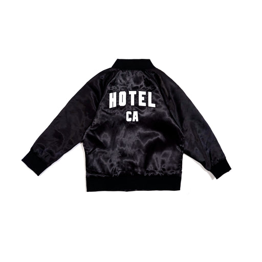 HOTEL CA SATIN JACKET - KIDS