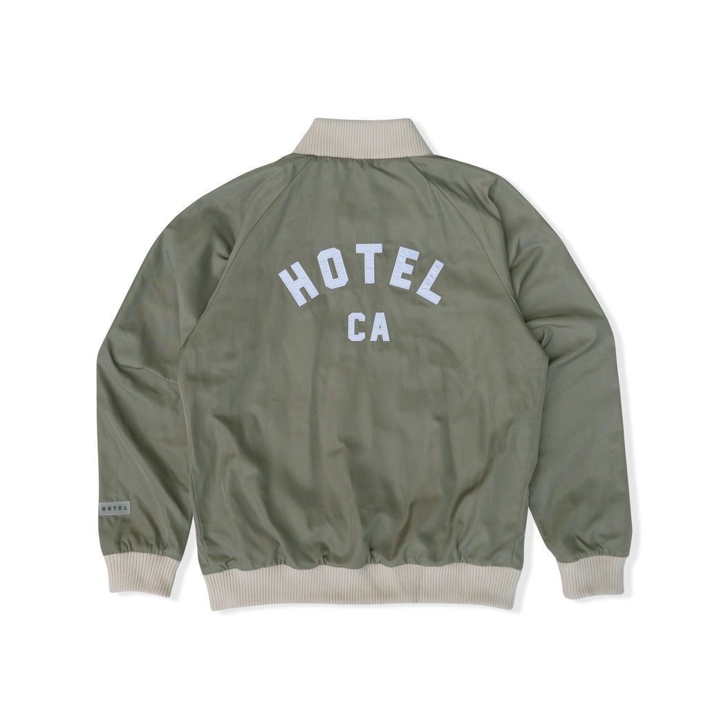 HOTEL CA V2 JACKET - WASHED OLIVE