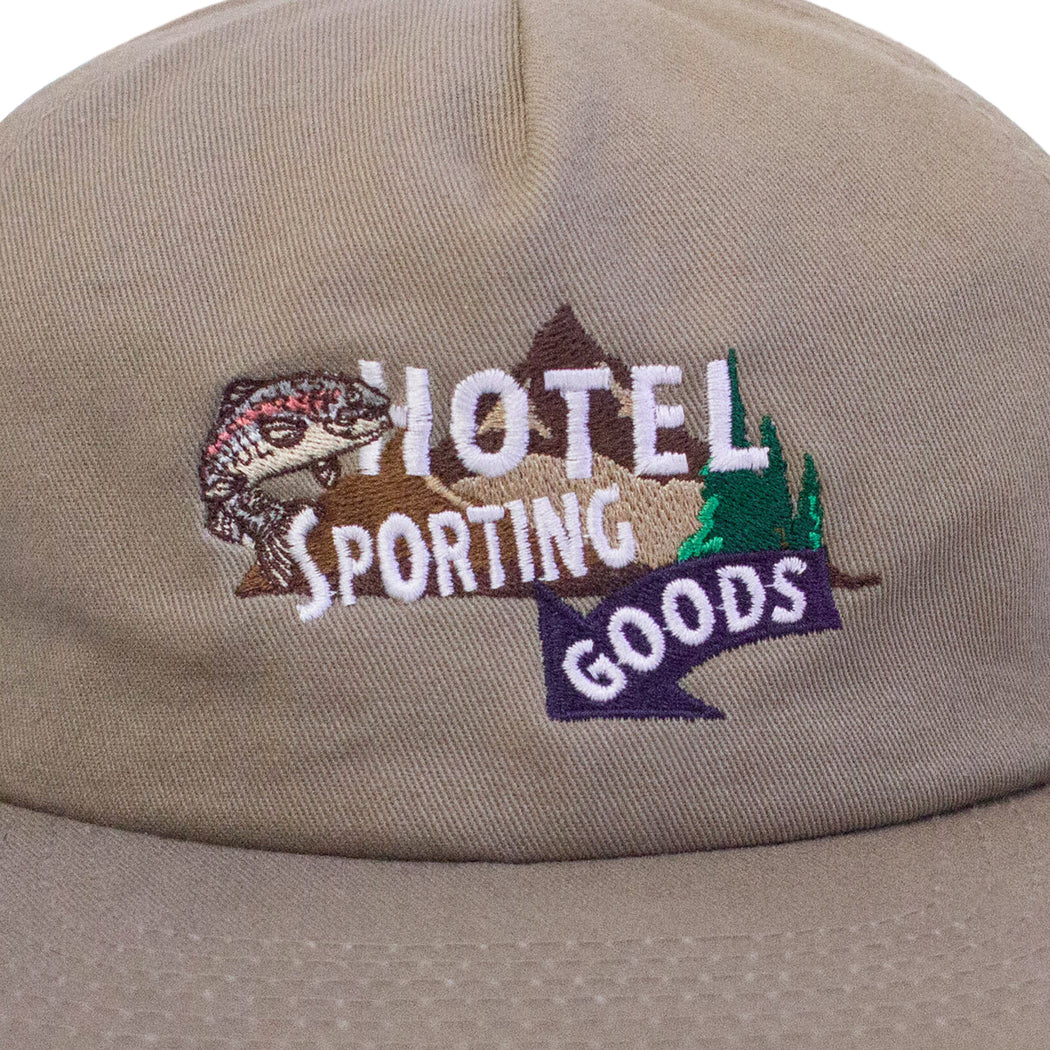 HOTEL SPORTING GOODS HAT - KHAKI