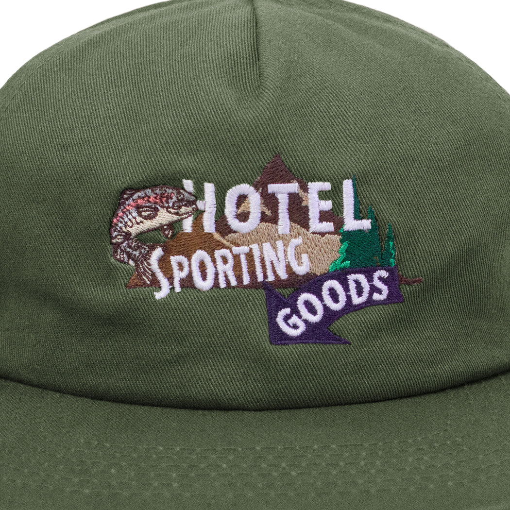 HOTEL SPORTING GOODS HAT - OLIVE
